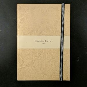 NWT Christian LaCroix Lined Notebook/Journal